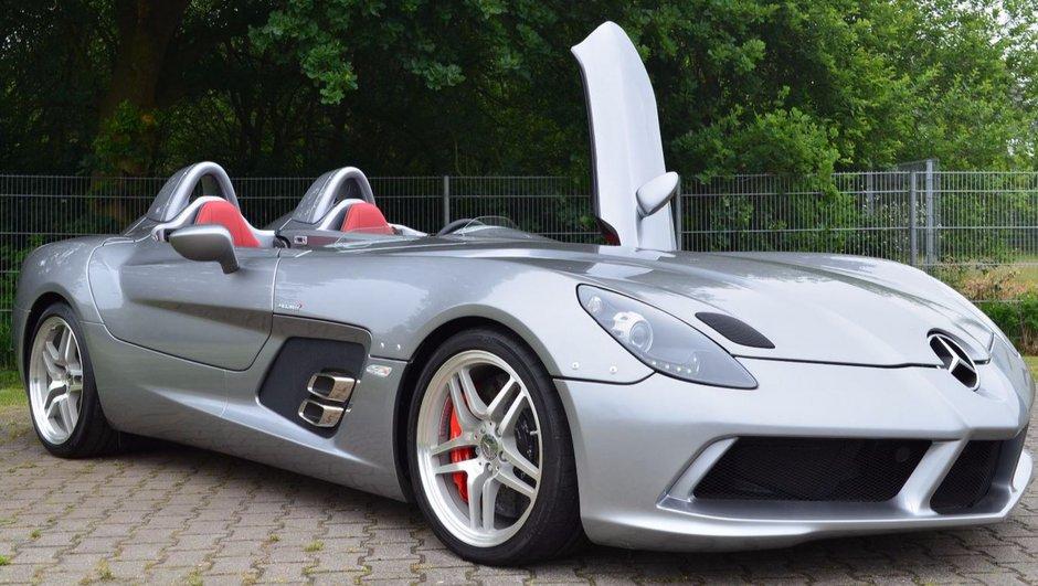 Occasion du jour : une Mercedes-Benz SLR Stirling Moss est à vendre !