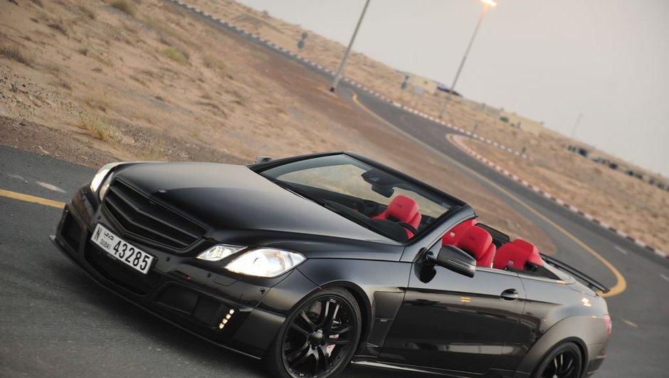 Mercedes Brabus 800 E V12 Cabriolet : 370 km/h en pointe !