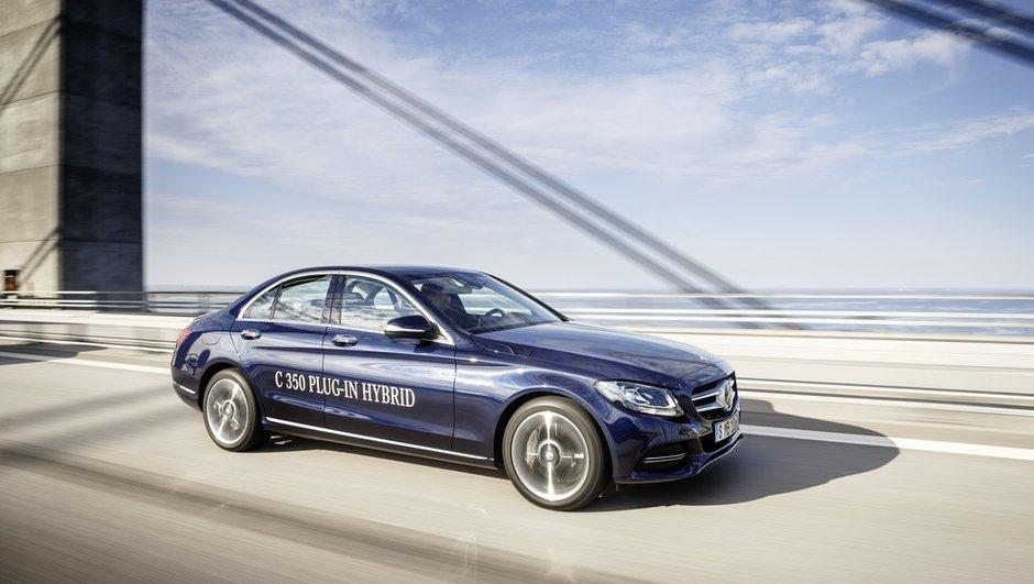 Mercedes-Benz C350 Hybride Rechargeable : Un léger appétit pour le Salon de Detroit