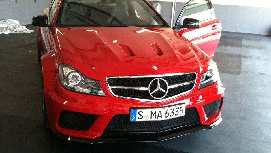 Mercedes C63 AMG Black Series : surprise avant l'heure