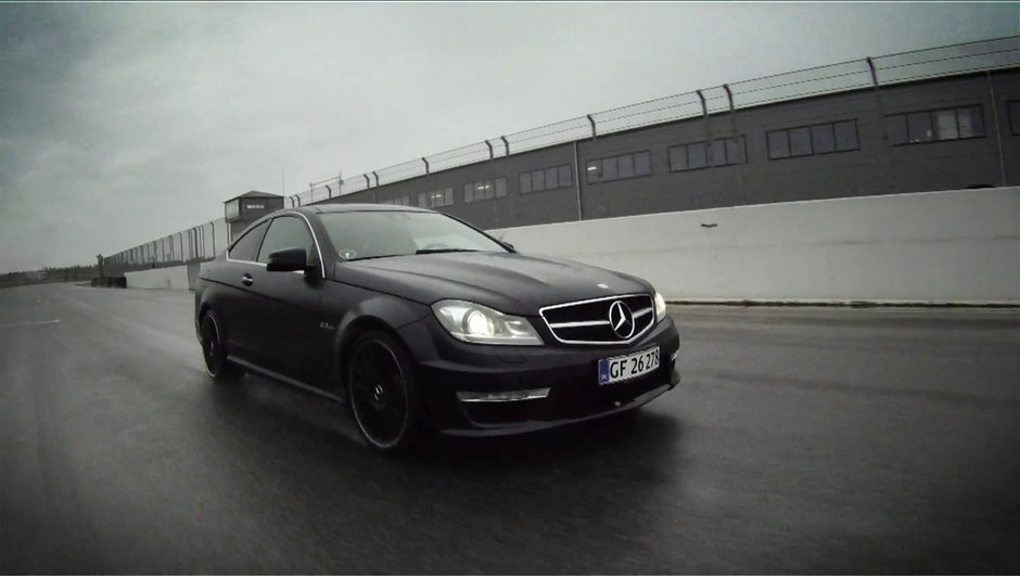 Vidéo : le son du V8 de la Mercedes C63 AMG