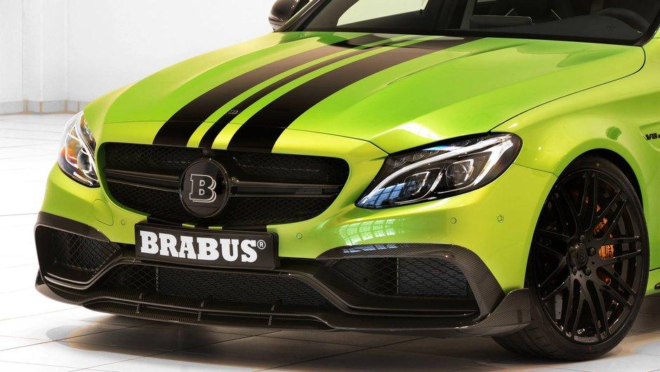 Tuning : La Mercedes C63 S AMG à la sauce Brabus