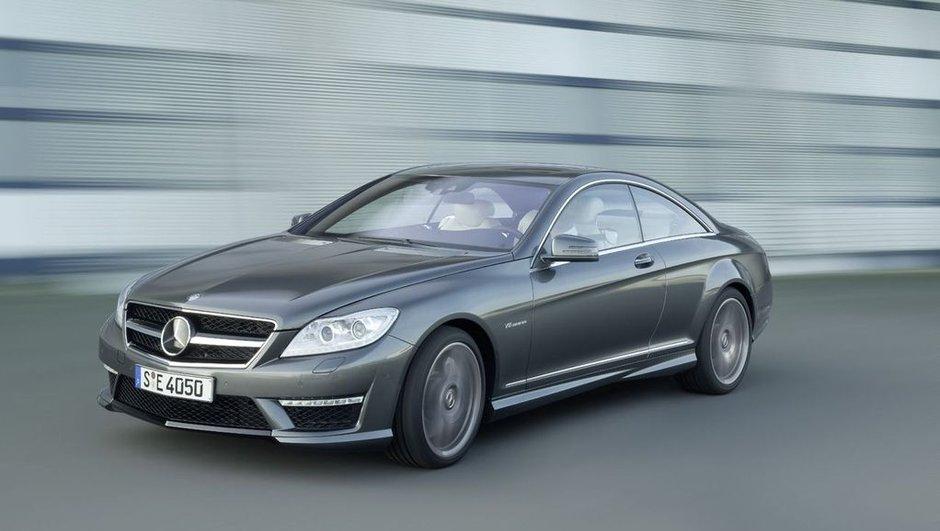 Mondial de l'Auto 2010 : Nouveaux Mercedes CL63 et CL65 AMG