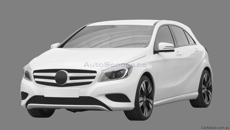 Future Mercedes Classe A : voici les premières images !