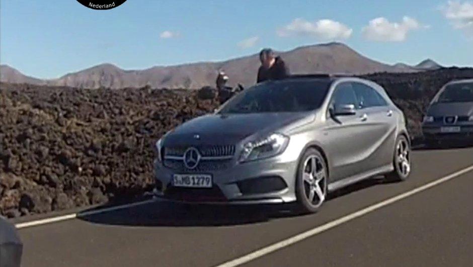 Scoop : la nouvelle Mercedes Classe A 2012 débusquée !