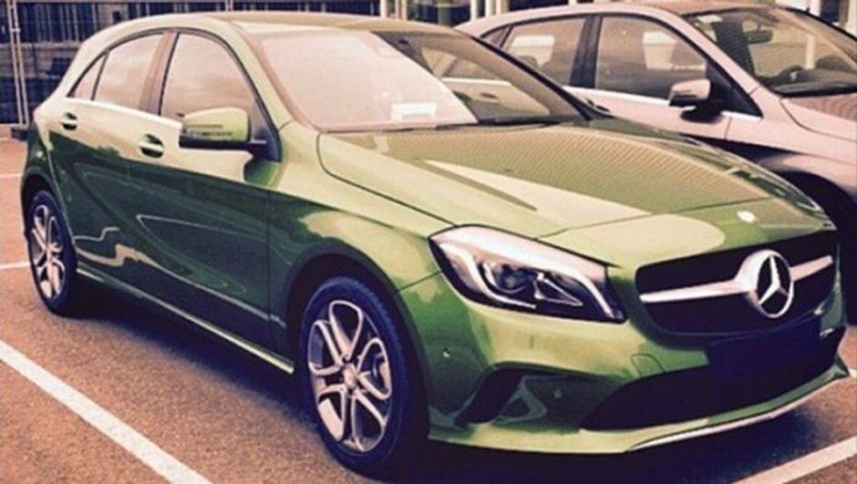 Mercedes-Benz Classe A 2015 : le restylage en scoop
