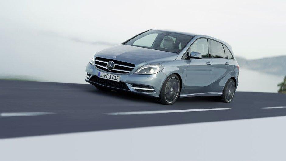 Mercedes Classe B 2011 : les infos et photos officielles