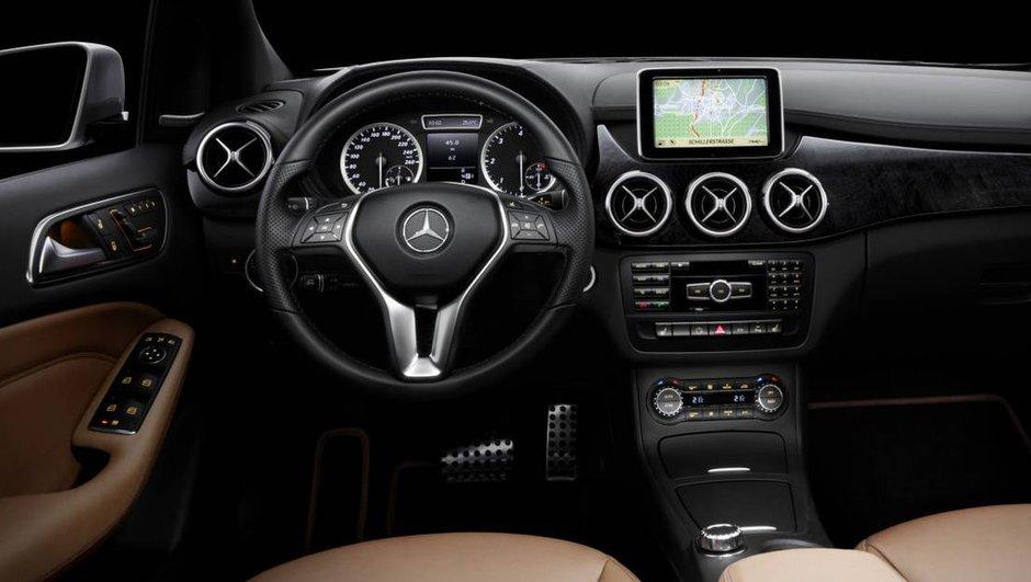 Mercedes Classe B 2011 : l'intérieur dévoilé !