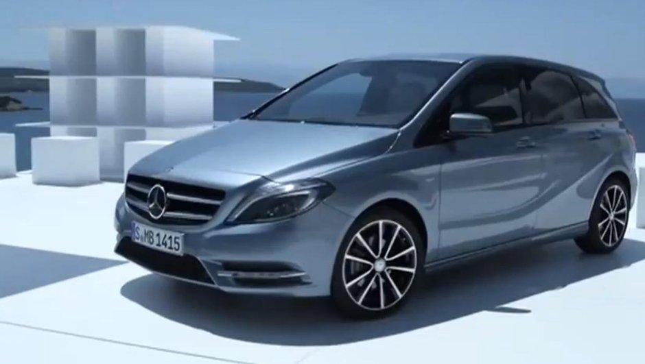 Vidéo : Nouvelle Mercedes Classe B 2011 en présentation officielle