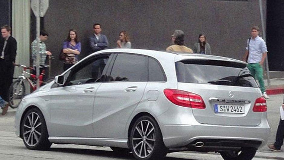 Future Mercedes Classe B : nouvelle génération en scoop
