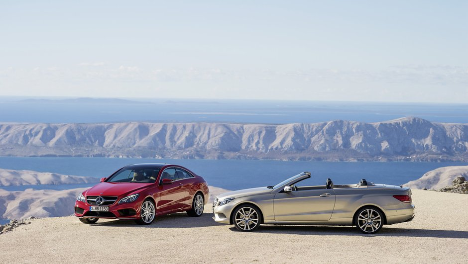 Salon de Détroit 2013 : Mercedes Classe E Coupé et Cabriolet restylés