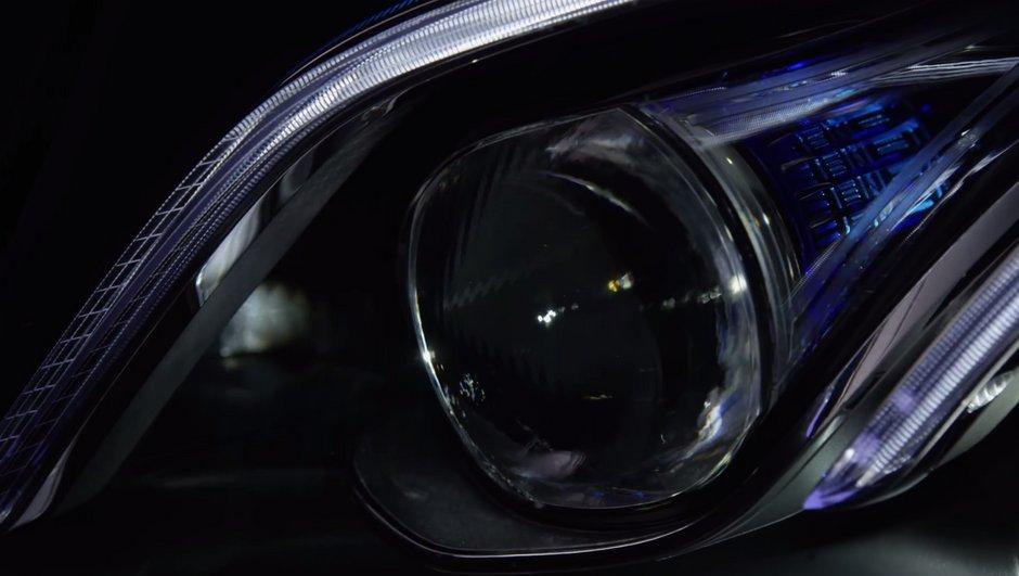 Salon de Detroit 2016 : Mercedes Classe E teaser