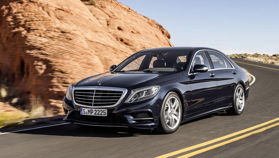"""La Mercedes Classe S élue """"voiture féminine de l'année 2014"""""""