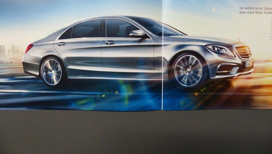 Mercedes Classe S 2013 : teaser vidéo et nouvelles fuites