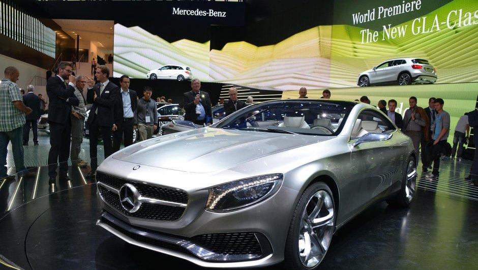 Salon de Francfort 2013 : Mercedes Concept Classe S Coupé, le futur CL