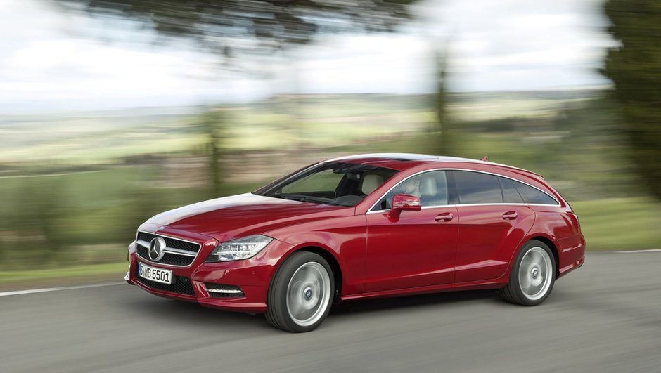 Mercedes CLS Shooting Brake : toujours pionnière