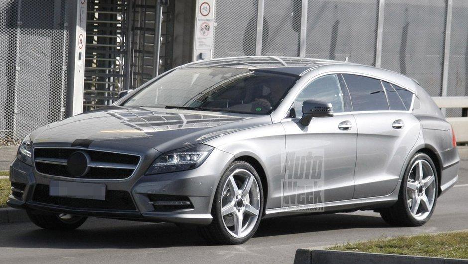 Scoop : voici le Mercedes CLS Shooting Break !
