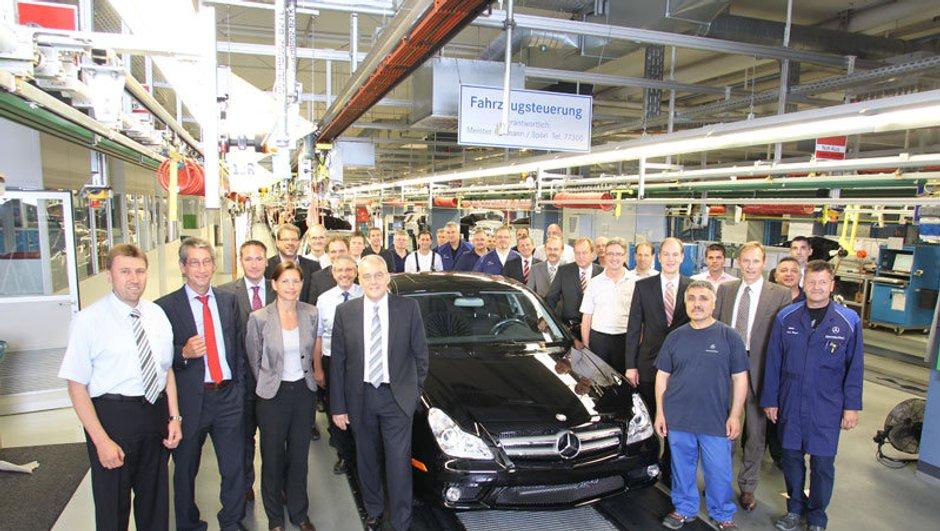 Mercedes CLS : dernier exemplaire avant la nouvelle génération