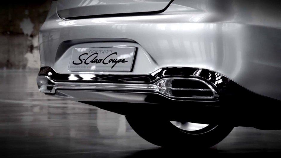 Mercedes Concept Classe S Coupé 2013 : ultime teaser