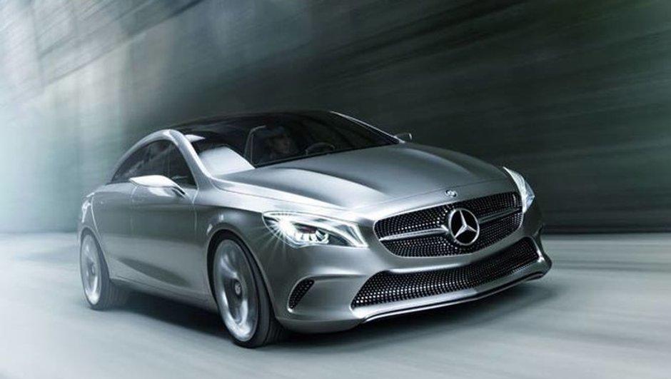 Mercedes Concept Style Coupé : la future CLA