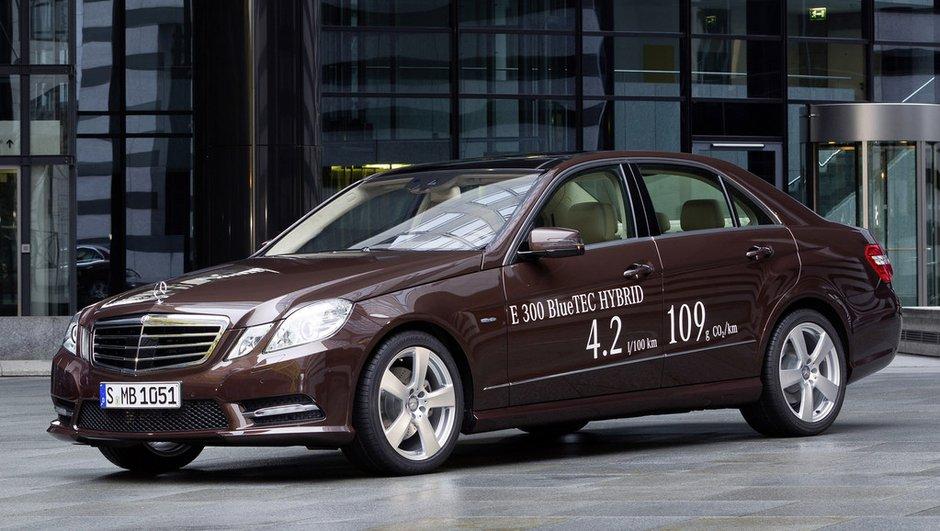 Salon de Détroit 2012 : Mercedes Classe E hybride essence et diesel