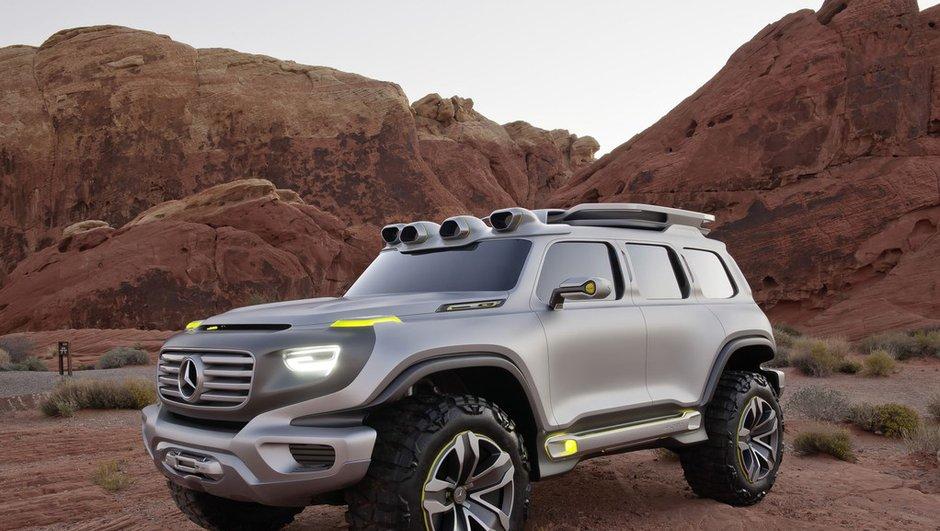 Salon de Los Angeles 2012 : Mercedes Ener-G-Force Concept