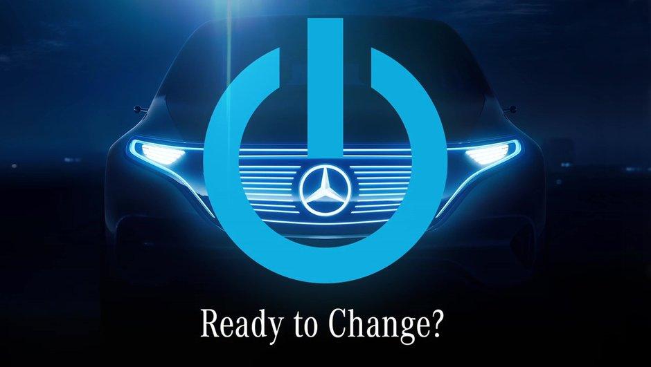 Premier teaser pour un concept de SUV électrique signé Mercedes
