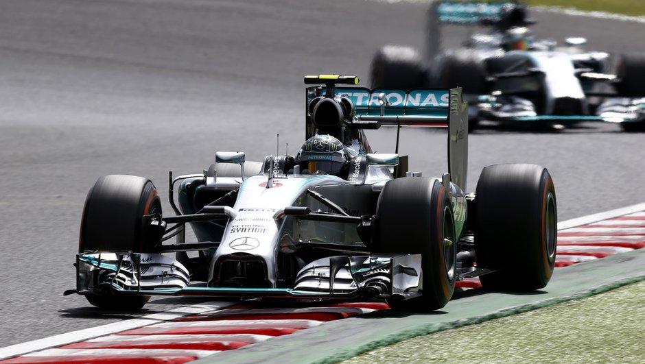 F1 - Essais GP du Japon 2014 : Mercedes aux avant-postes