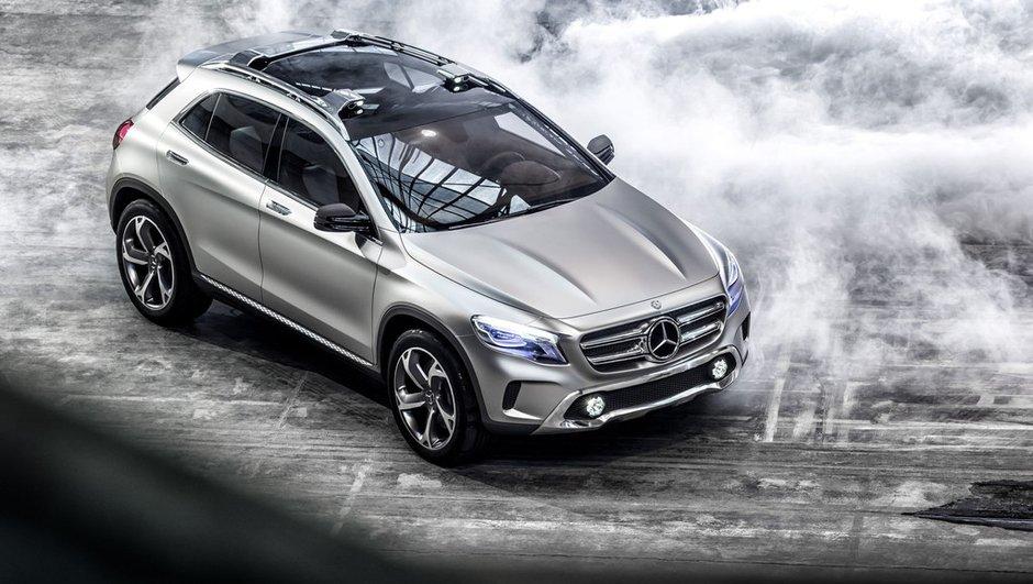 Salon de Shanghai 2013 : Mercedes GLA Concept officiellement dévoilé