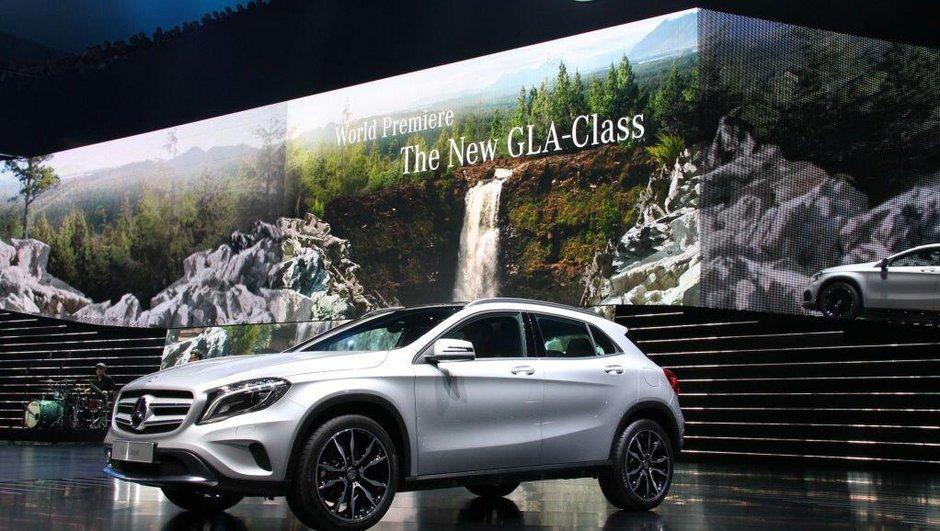Salon de Francfort 2013 : Mercedes-Benz GLA, Classe A-scendant crossover
