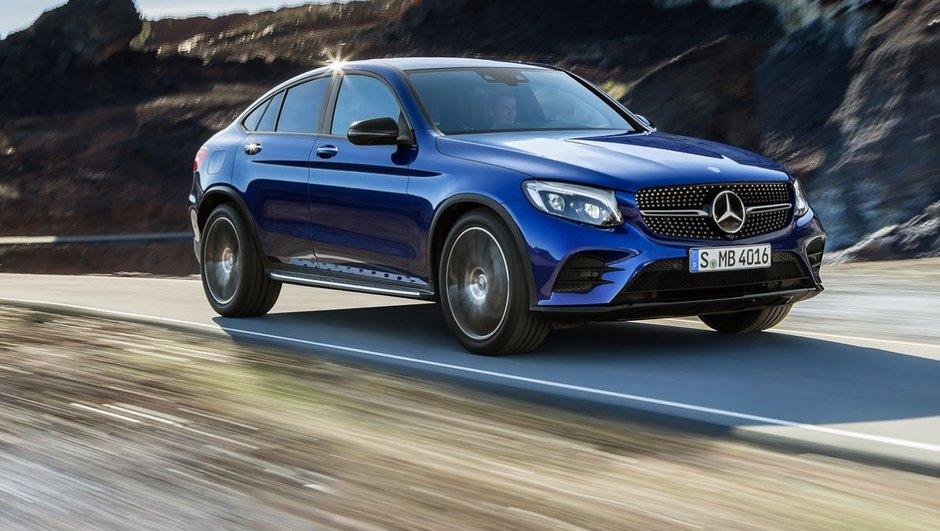 Mercedes GLC Coupé présente ses 8 nouvelles motorisations