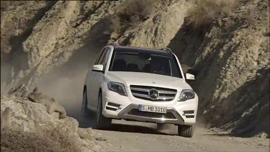 Mercedes GLK 2012 : première vidéo officielle du restylage