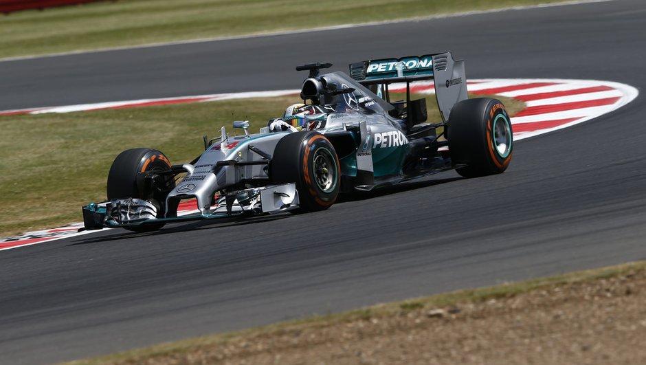 F1 - Essais 2 Silverstone 2014 : Hamilton répond à Rosberg