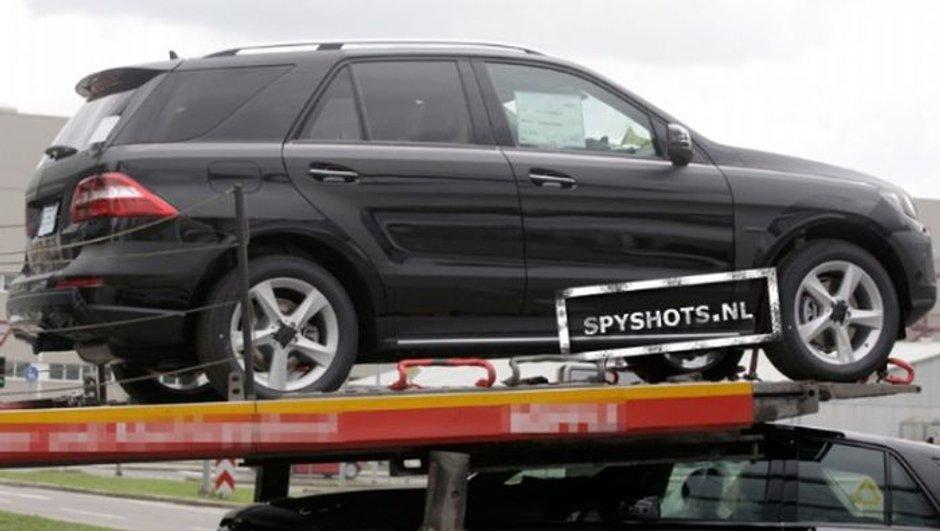 Mercedes ML 2011 : photos scoop du SUV nouvelle génération