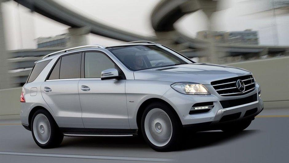 Nouveau Mercedes Classe M : présentation et photos officielles
