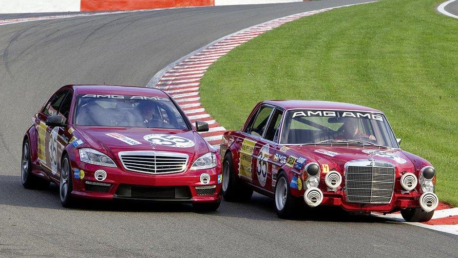 Mercedes 300 SEL AMG : de retour à Spa en compagnie de la S 63 AMG