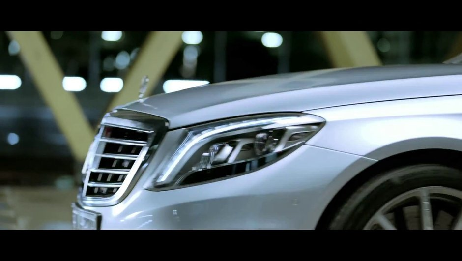 Nouvelle Mercedes S63 AMG 2013 : teaser vidéo