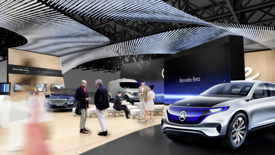 Mercedes va apporter deux de ses nouveautés majeures au CES de Las Vegas 2017