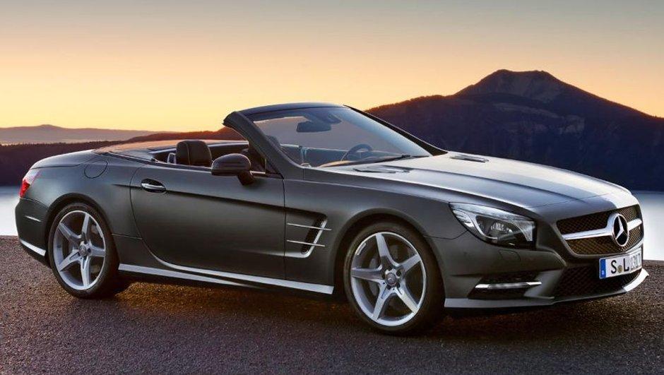 Salon de Détroit : Mercedes SL 2012, les photos officielles prématurées