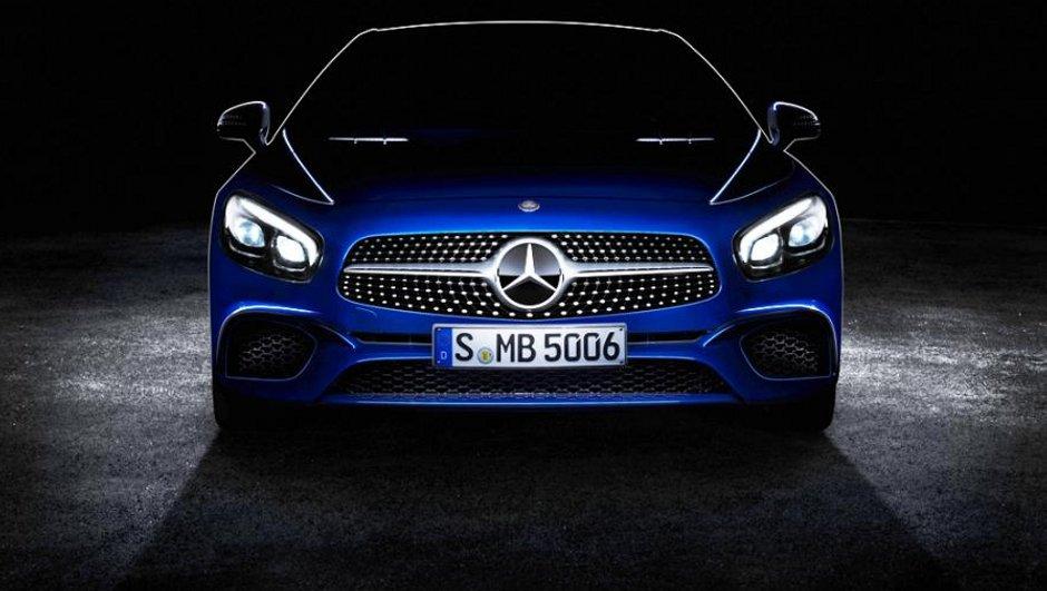 Mercedes-Benz SL 2016 : 1ère image avant le Salon de Los Angeles