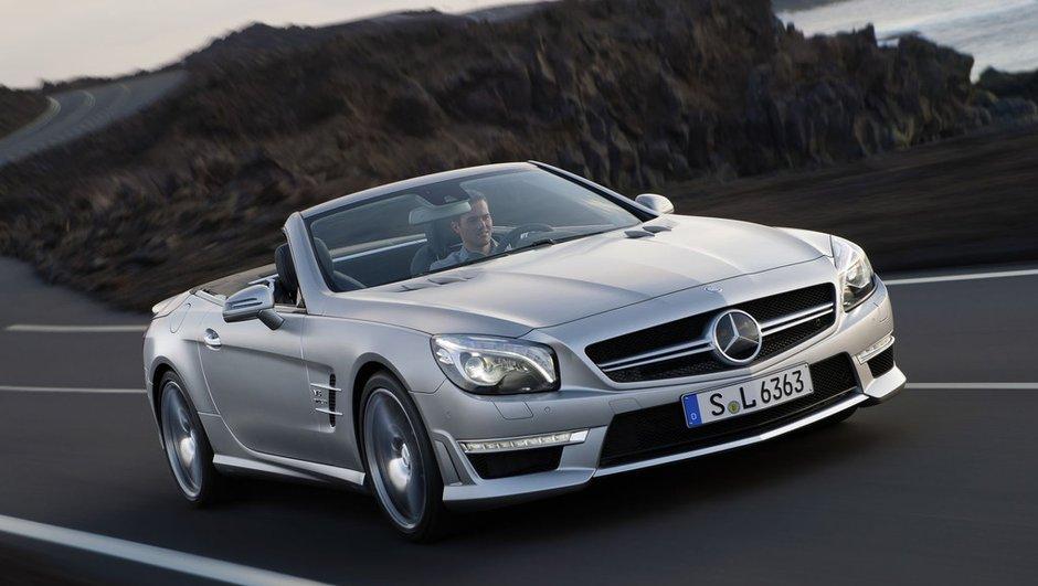 Nouvelle Mercedes SL 63 AMG, jusqu'à 564 ch !