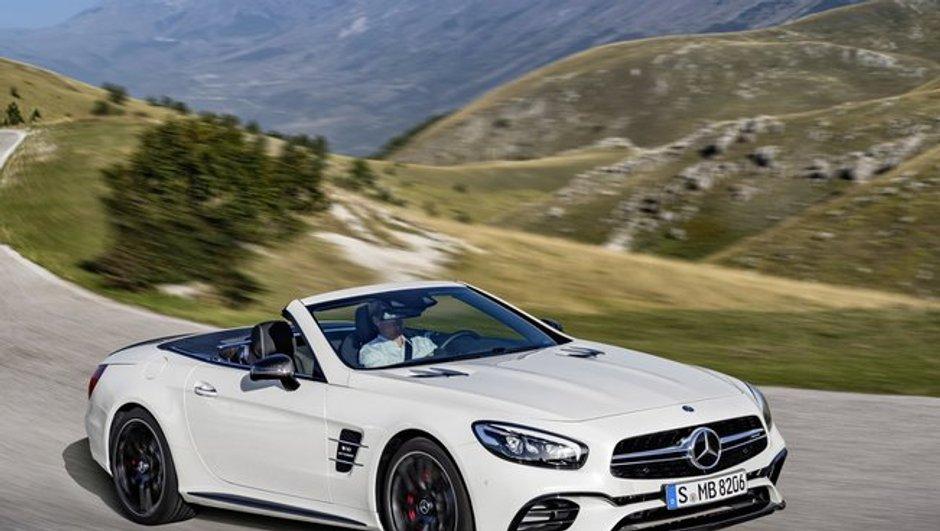 Mercedes-Benz SL 2016 : premières photos officielles en fuite