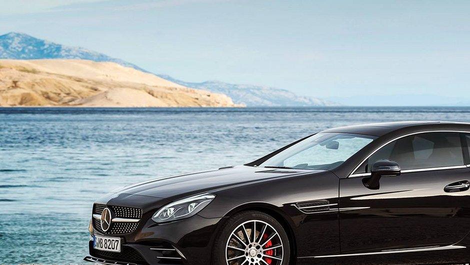 Design : La Mercedes-Benz SLC déjà en version Shooting Brake