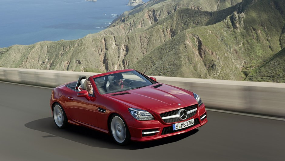 La nouvelle Mercedes SLK se dévoile enfin officiellement