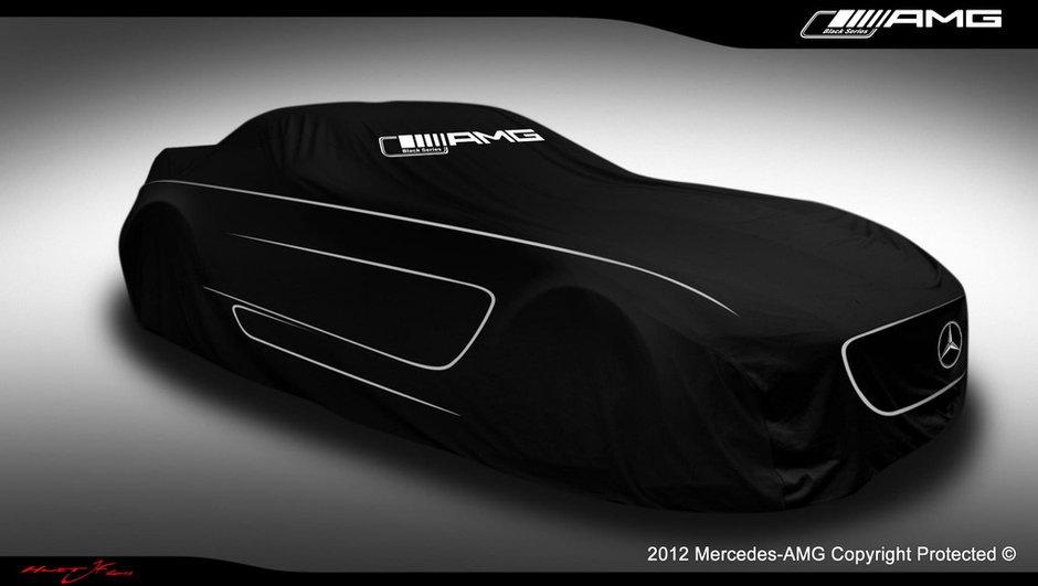 Mercedes SLS AMG Black Series : le teaser qui dure 24h