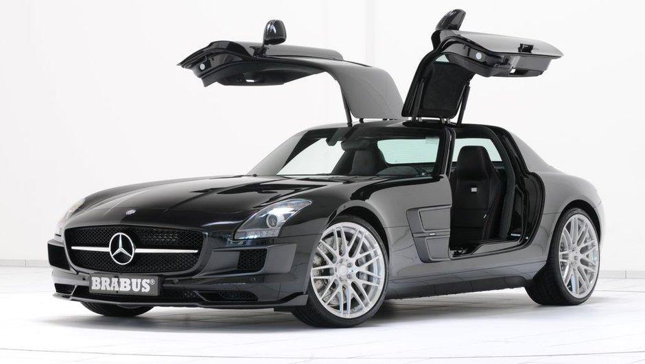Mercedes SLS AMG : Brabus donne des ailes !