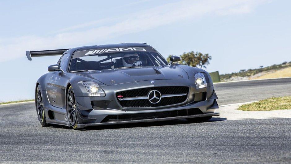 Mercedes SLS AMG GT3 45th Anniversary : exclusive de piste
