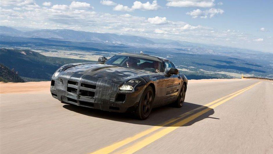 Mercedes SLS AMG, l'héritière de la Gullwing
