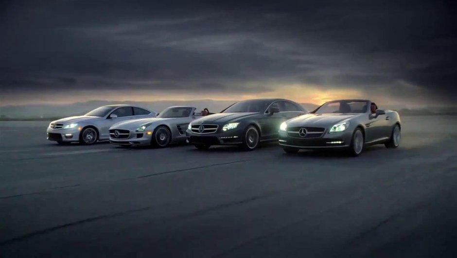 Mercedes SLS AMG Roadster, le cabriolet dévoilé en vidéo