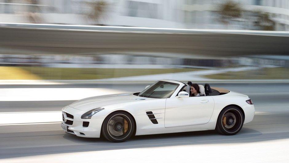 Mercedes SLS AMG Roadster : le prix et photos officielles